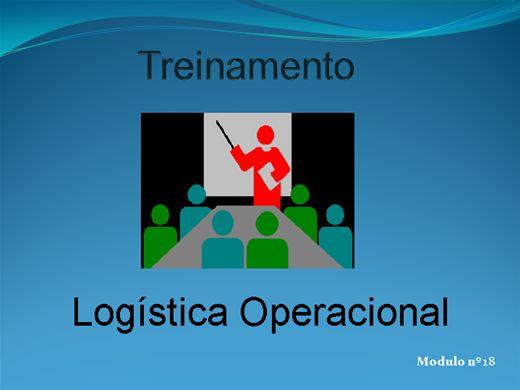 Curso Online de LOGÍSTICA OPERACIONAL MODULO Nº  18