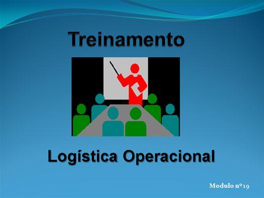 Curso Online de LOGÍSTICA OPERACIONAL MODULO Nº  19