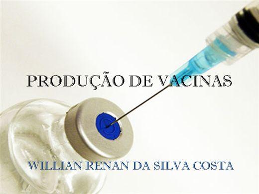 Curso Online de PRODUÇÃO DE VACINAS- DA ORIGEM ATÉ OS DIAS ATUAIS