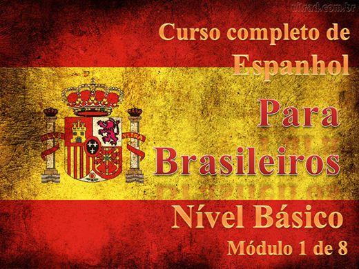 Curso Online de Curso completo de Espanhol - nível Básico - Módulo 1 de 8