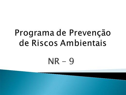 Curso Online de NR-9 - Programa de Prevenção de Riscos Ambientais - PPRA