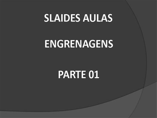 Curso Online de Engrenagens - Elementos de Maquinas