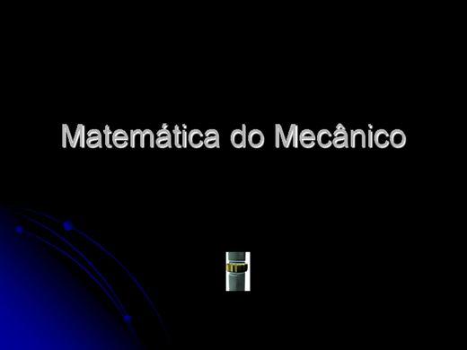 Curso Online de Matemática do Mecânico