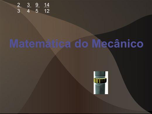 Curso Online de Matemática do Mecânico de Automóveis
