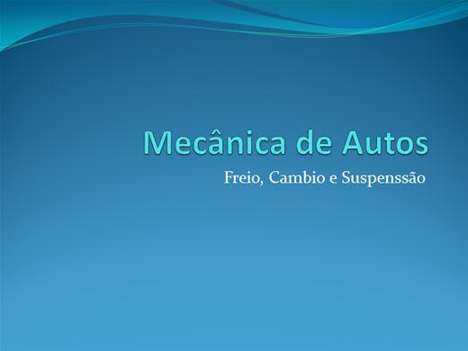 Curso Online de Mecânica de automóveis