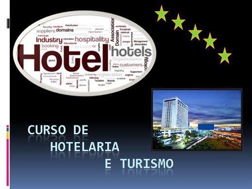 Curso Online de GESTÃO HOTELEIRA E TURÍSTICA