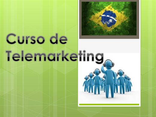 Curso Online de  TELEMARKETING