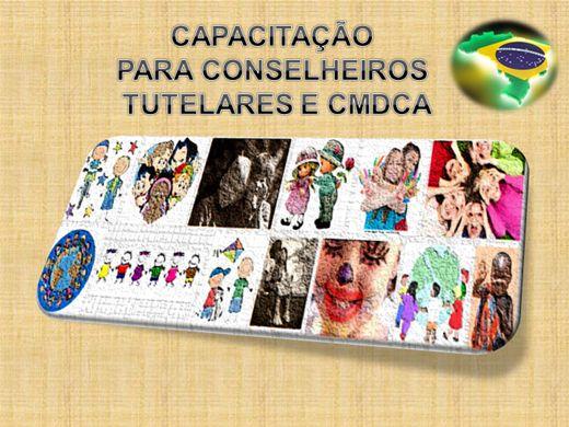 Curso Online de CAPACITAÇÃO PARA CONSELHEIROS TUTELARES E CMDCA