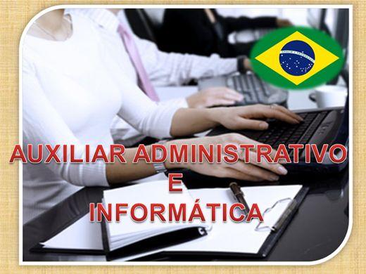Curso Online de CURSO DE AUXILIAR ADMINISTRATIVO E INFORMÁTICA