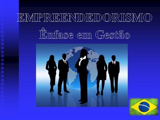 Curso Online de EMPREENDEDORISMO (Ênfase em Gestão)