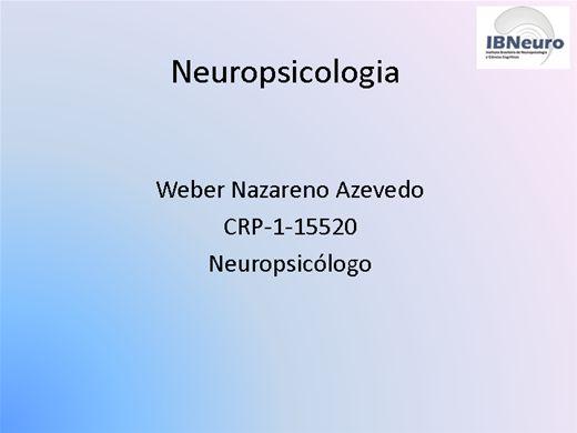 Curso Online de Tópicos em Neuropsicologia e Educação