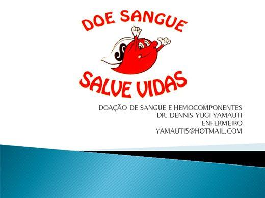 Curso Online de Aula de doação de sangue