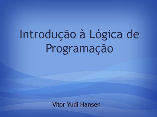 Curso Online de Introd. a Lógica de Programação