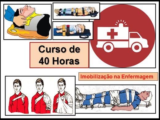 Curso Online de Imobilização em Enfermagem