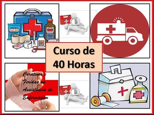 Curso Online de Curativos e Feridas na Assistencia da Enfermagem