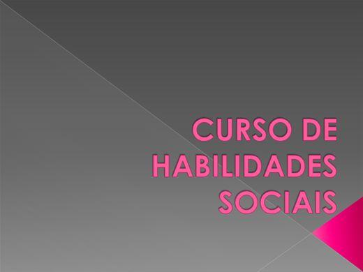 Curso Online de Habilidades Sociais