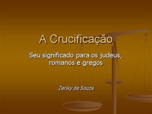 Curso Online de A Crucificação de Cristo