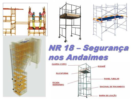 Curso Online de NR 18 - Segurança nos Andaimes