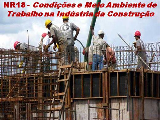 Curso Online de NR 18 - Condições e  Meio Ambiente de Trabalho na Indústria da Construção