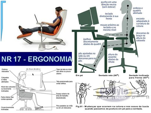 Curso Online de NR 17 - Ergonomia no Trabalho